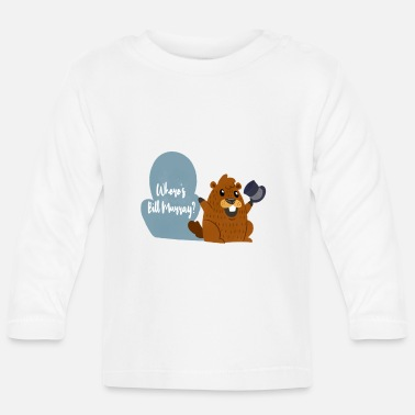 Tradition Rolig Murray Marmot T-shirt Ferie gave - Langærmet babyshirt
