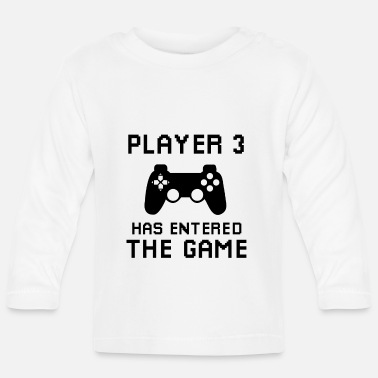 Game Player 3 has entered the game - Baby Langarmshirt