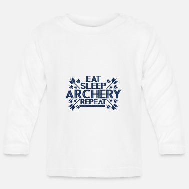 Arrow And Bow bow and arrow - Baby Longsleeve Shirt