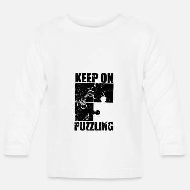 Puzzle Puzzle Pieces Puzzle Puzzles Puzzle Friends Puzzles - Baby Longsleeve Shirt