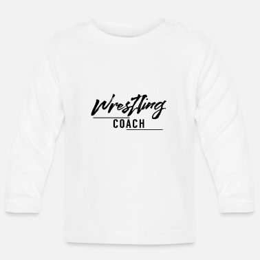 Fighter Wrestling coach - Baby Longsleeve Shirt