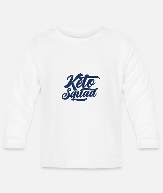 Carnivores Baby Long Sleeve Shirts - Keto diet - Baby Longsleeve Shirt white