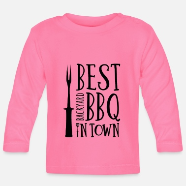 Backyard Best backyard bbq in town - Baby Longsleeve Shirt