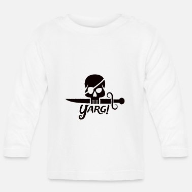 Pirate Piraten - Baby Langarmshirt