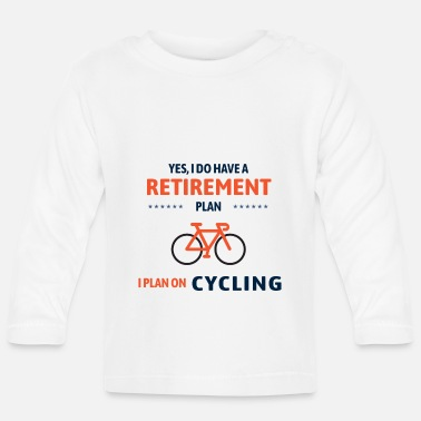 Wheel Cycling Bicycle Bike Cyclist Funny Gift - Baby Longsleeve Shirt