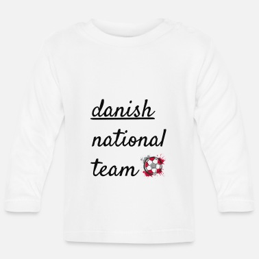 National Team Danish national team - Baby Longsleeve Shirt