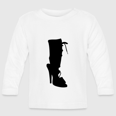 Vector highheels Silhouette - Baby Long Sleeve T-Shirt