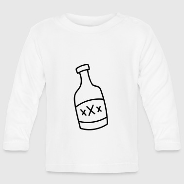 Bottle of liquor - Baby Long Sleeve T-Shirt