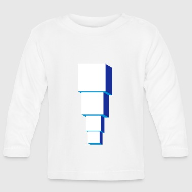 Optical Illusion Optical illusion illusion building - Baby Long Sleeve T-Shirt