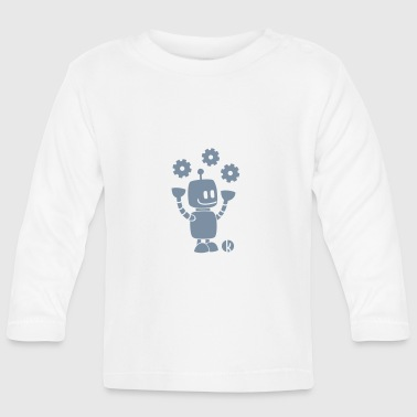 Techie Robot - Baby Long Sleeve T-Shirt