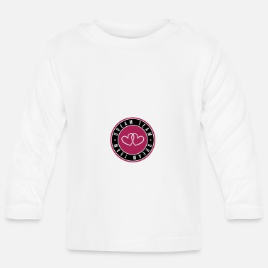 Friendship dream team heart circle - Baby Longsleeve Shirt