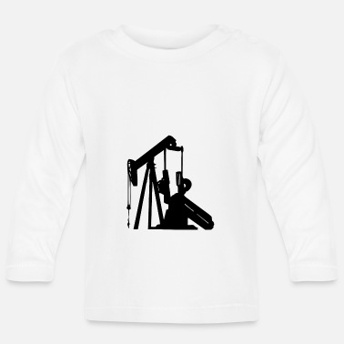 Oil Drilling Oil drill for the fuel - Baby Longsleeve Shirt
