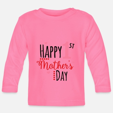 Day Gelukkige moederdag Mother's Day Gift - Baby longsleeve