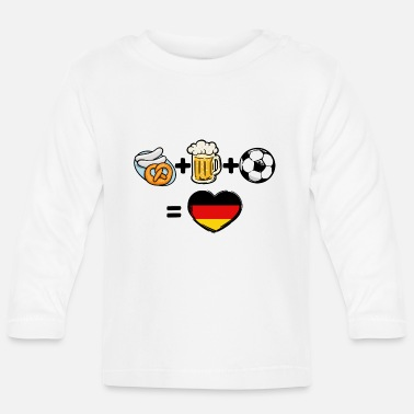 National Team Germany national team soccer team fan - Baby Longsleeve Shirt