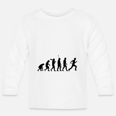 Cop Police officers gift evolution police officers K - Baby Longsleeve Shirt