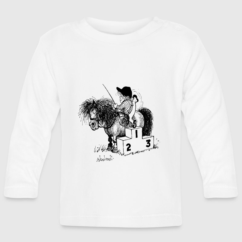 Thelwell - Winner's rosttrum - Baby Long Sleeve T-Shirt
