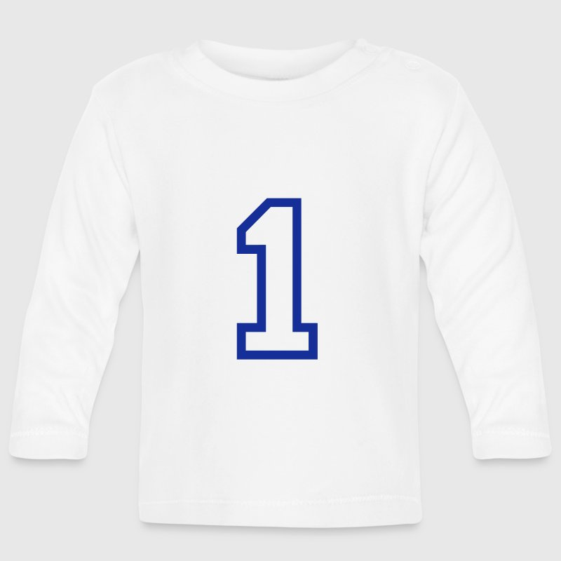 THE NUMBER 1-ONE - Baby Long Sleeve T-Shirt