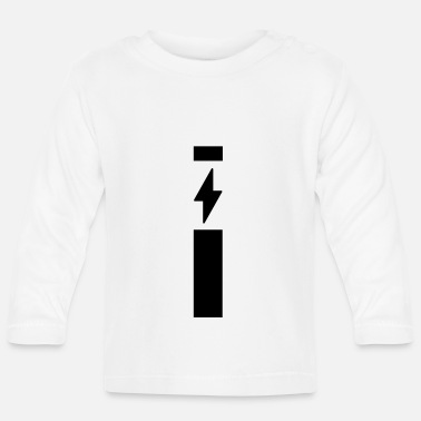 Strip Lightning with strip - Baby Longsleeve Shirt