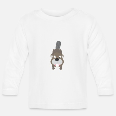 Beaver Beaver - Baby Long Sleeve T-Shirt