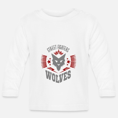 Street Fighter street fighters wolves - Baby Longsleeve Shirt