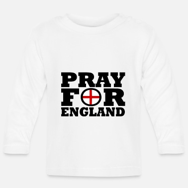 England England / Be for England - Langarmet baby T-skjorte