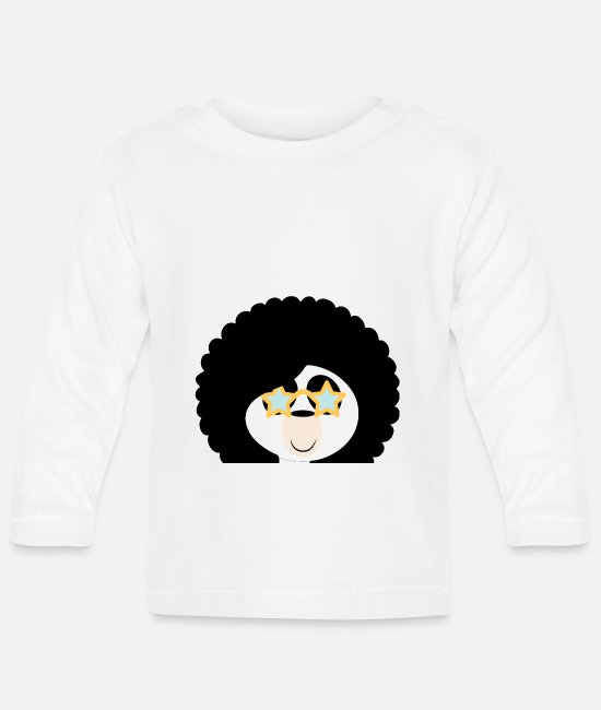 Nightlife Baby Long-Sleeved Shirts - To the disco disco party party - Baby Longsleeve Shirt white