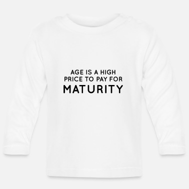 Mature Maturity - Baby Longsleeve Shirt