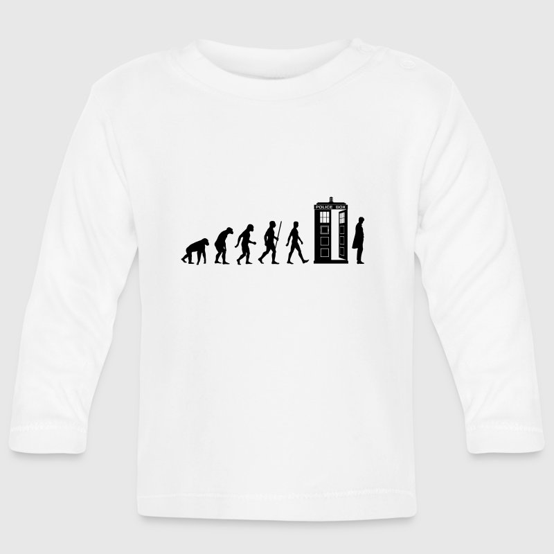 Evolution Tardis - Baby Long Sleeve T-Shirt