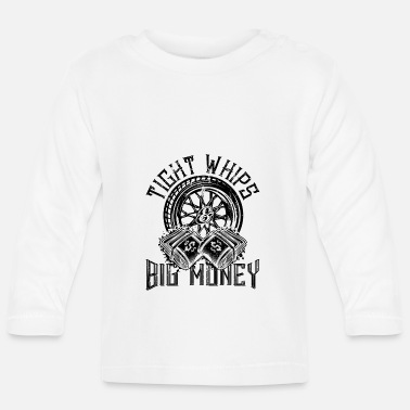 Mature Cars and a lot of money mature - Baby Longsleeve Shirt