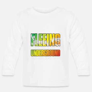 Flee Fleeing from War V3 - Baby Longsleeve Shirt