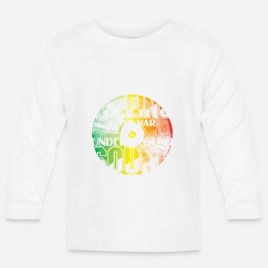 Flee Fleeing from War V2 - Baby Longsleeve Shirt
