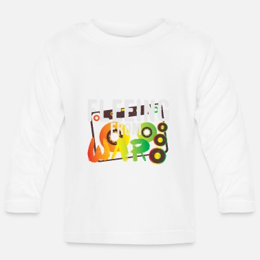 Flee Fleeing from War - Baby Longsleeve Shirt