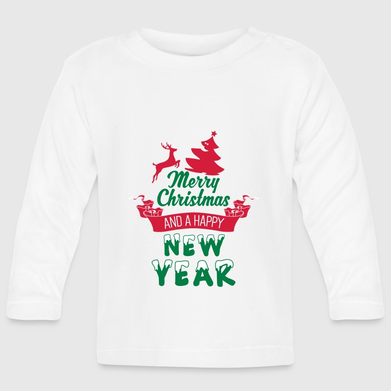 Merry Christmas and a Happy new Year - Baby Long Sleeve T-Shirt