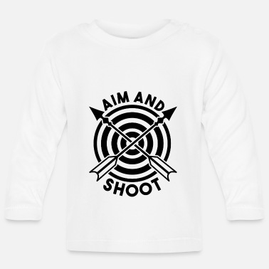 Aims AIM AND SHOOT - Baby Longsleeve Shirt