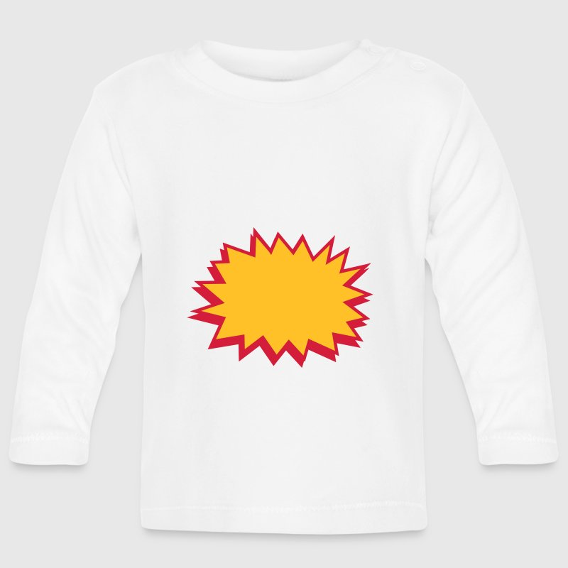 comic blase - comic bubble - Baby Long Sleeve T-Shirt