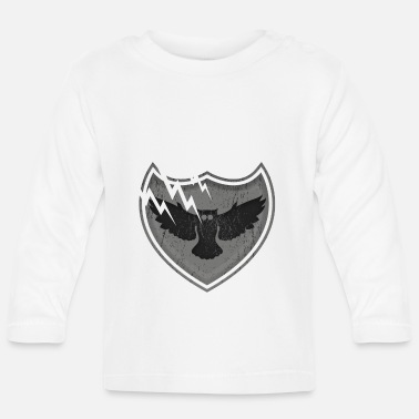 Family Crest Owls on the crest - owls on the crest - Baby Longsleeve Shirt