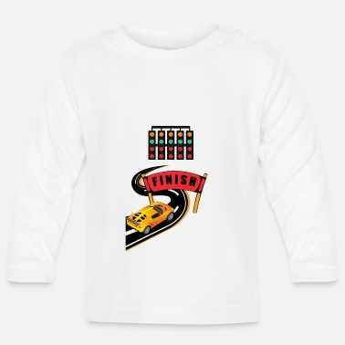 Race Car Driver Racing driver car racing sports car vehicles - Baby Longsleeve Shirt