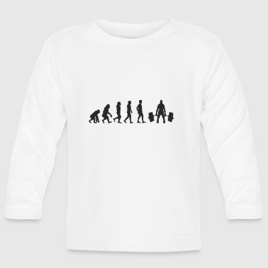 Evolution Weight Lifting - Baby Long Sleeve T-Shirt