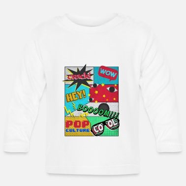 Pop Culture Abstract pop culture - Baby Longsleeve Shirt