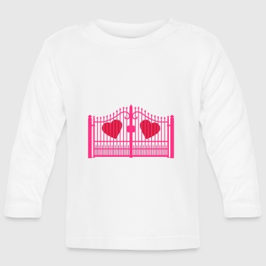 gate for hearts_c1 - Baby Long Sleeve T-Shirt