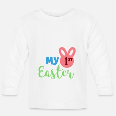 Osterhase My First Easter Geschenk Ostern Osterhase Hase Ost - Baby Langarmshirt