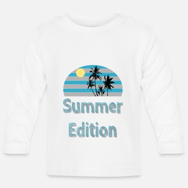 Palm Trees Summer Edition - summer / trend / cool - Baby Longsleeve Shirt