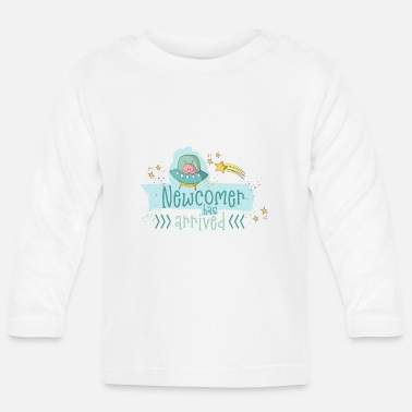 Birth Baby Birth: Newcomer - A boy is born - Baby Longsleeve Shirt