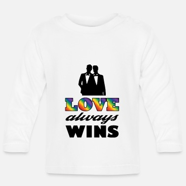 Gay Im coming out cadeau-shirt - Baby longsleeve