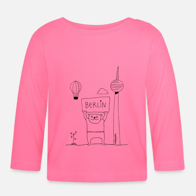 Berliner Bar Zum Ausmalen Littlepublic Baby Langarmshirt Spreadshirt