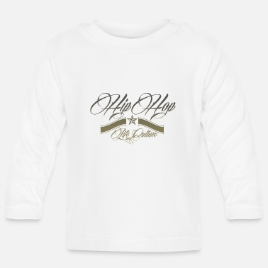 HipHop Life and Culture V2 - Baby Longsleeve Shirt