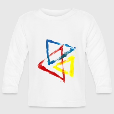 geometric - Baby Long Sleeve T-Shirt