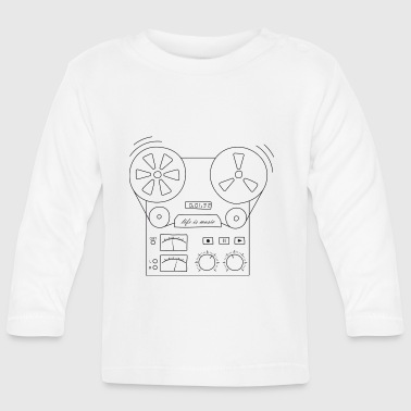 magnetic tape recorder - Baby Long Sleeve T-Shirt