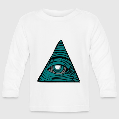 All-seeing eye - Baby Long Sleeve T-Shirt