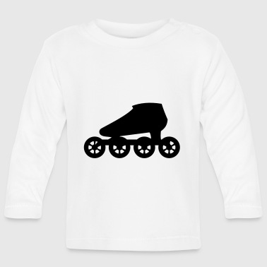 Inline Skate - Speed Skate - Baby Long Sleeve T-Shirt